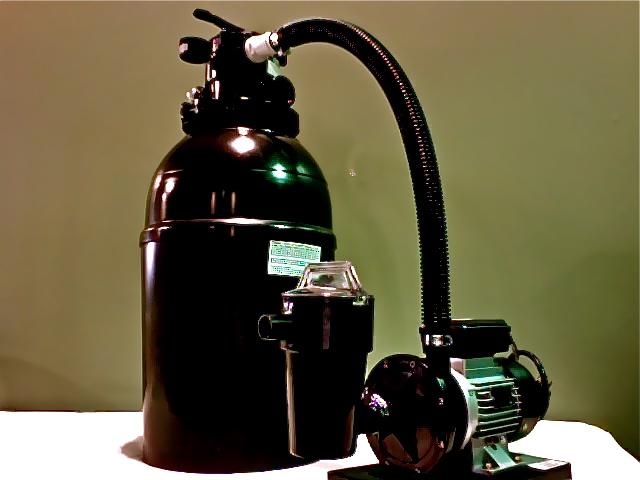 Columbia 100 LBS 6 way valve sand filter
