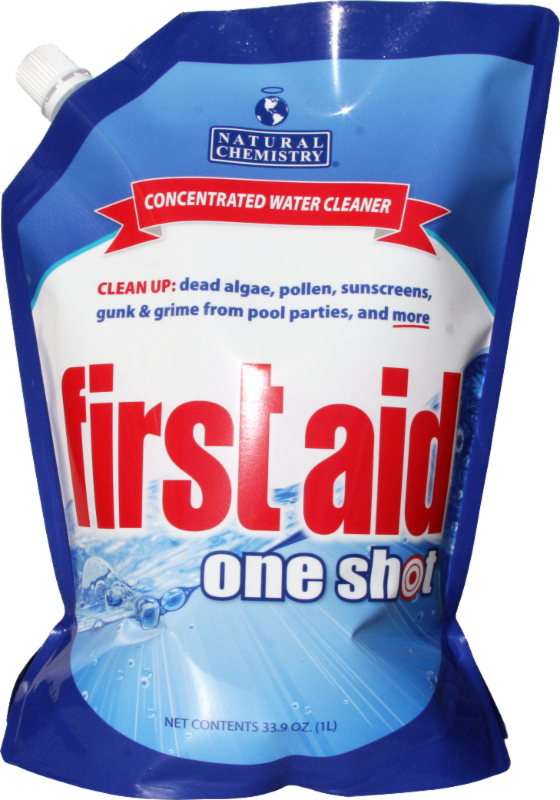 First Aid One Shot Pool Supplies