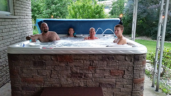 Hot Tub Giveaway Contest Winners