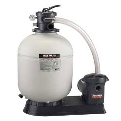 Hayward 16' Sand filter with 1 HP Pump