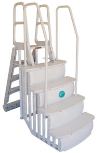 easy access evolution pool ladders