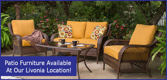 Patio Furniture At Livonia Location