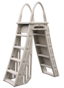 Safety pool ladders