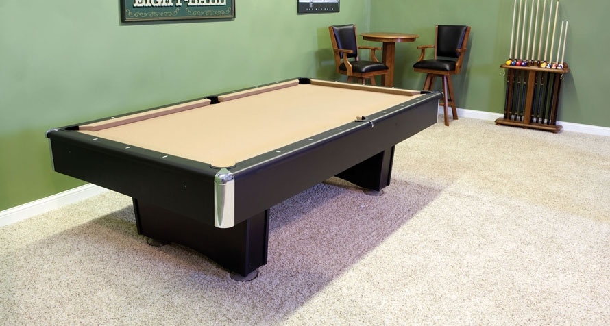 Pool Table Collections - Room needed for pool table