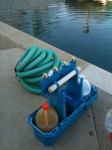 Pool cleaning and winterizing chemicals