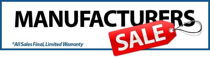 Manufacturers Sale
