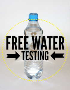 Ask about free pool water testing in Livonia