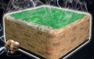 Have a Halloween Hot Tub Party!