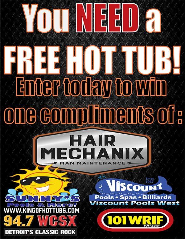 Hot Tub Contest