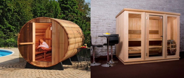 New Products: Almost Heaven Saunas