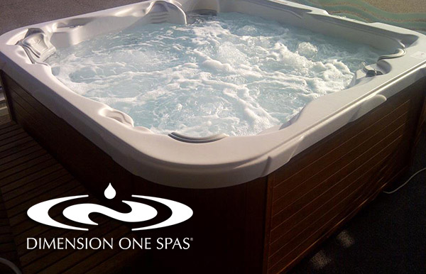 Dimension One Spas Are Available From Viscount West