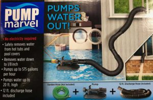 Pump Marvel Cover Saver Pump