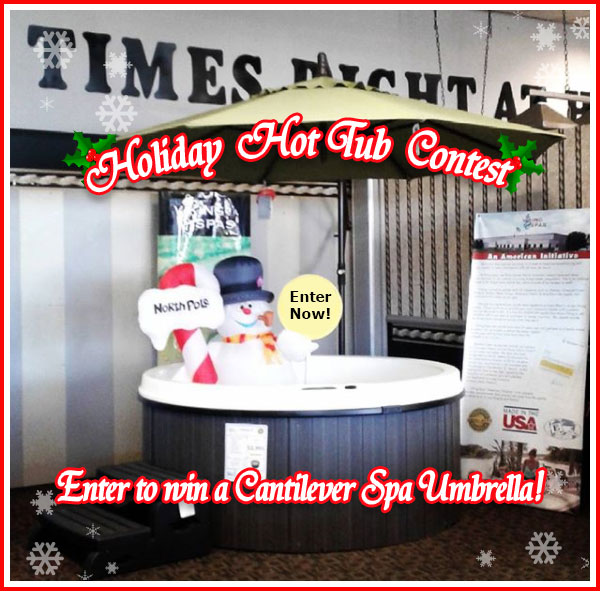 Holiday Hot Tub Contest