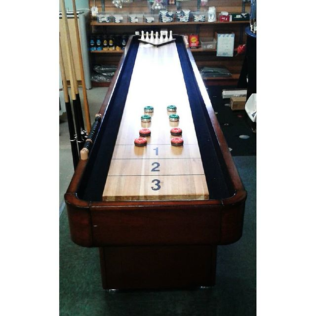 Shuffle boards and more at Sunnys Game Room