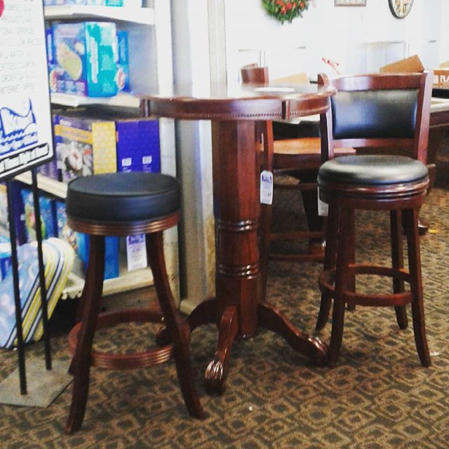 Barstools, pub tables from Sunnys Pools and more