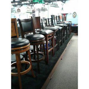 Bar stools at Sunny's