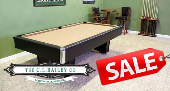 Pool Table Sale!