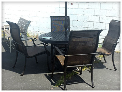 Patio Furniture Available at Sunny's Flat Rock