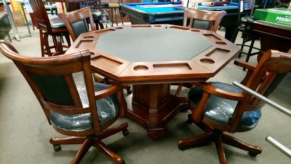 Poker Table Game Set
