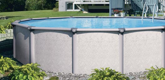 Premier Aluminum Above Ground Pool Fairfield
