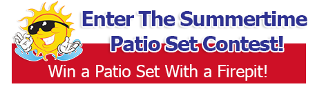 Enter To Win a Patio Set!