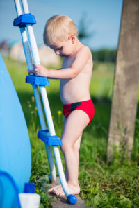 pool ladders and rails for child safety