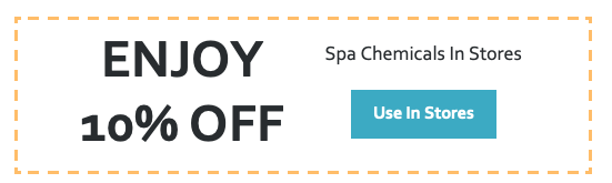 10% Off Spa Chemicals