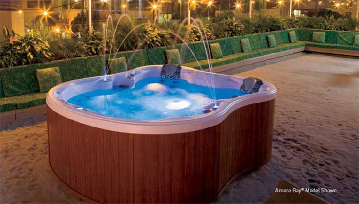 Dimension One Spas Available At Sunny's Pools & More