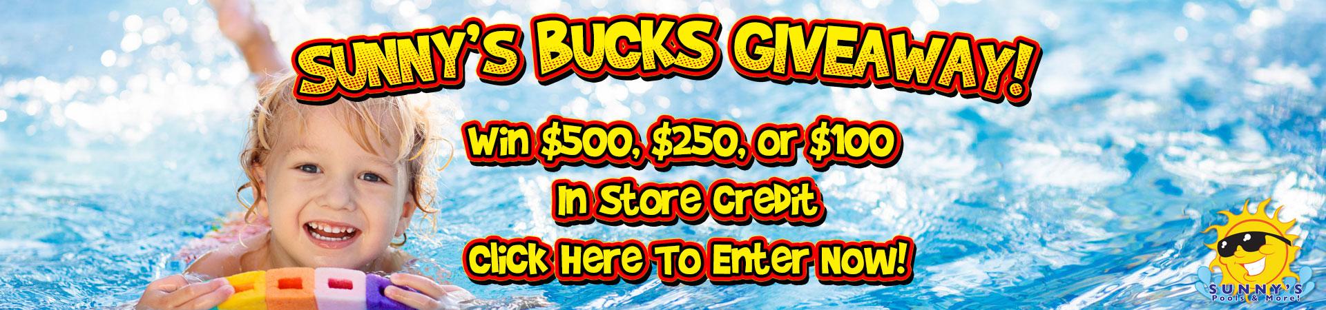 Sunny's Bucks Giveaway