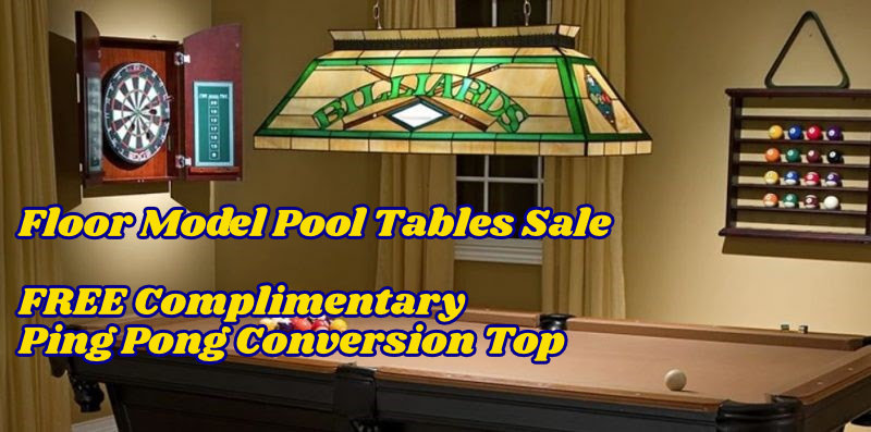 Pool Table Floor Model Sale
